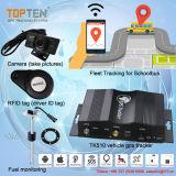 Флот GPS Tracker с отрезанными ускорения, пружинное стопорное изображения через MMS ТЗ510-Ez