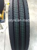 Un neumático del carro del diseño de la sección de la pisada de la marca de fábrica de Joyall y un neumático más anchos 12r22.5 del carro