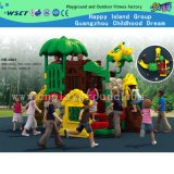 Équipement d'aire de jeu pour enfants à prix réduit Ensemble de jeux pour petits jeux (HD-4402)