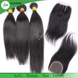 [أوفا] شعر مصنع بيع بالجملة مختلفة نساج عذراء [هومن هير] قطعات