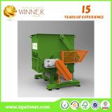 Único Shredder do eixo para a máquina de borracha Waste da estaca e do recicl