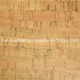 Couro de madeira do plutônio do sofá da grão para o pacote Hw-668 da caixa da mobília