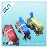 Le rochet de SLN 3500lbsx10'amarrent la courroie de rochet de polyester
