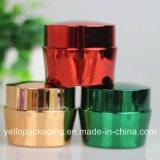 Frasco de plástico do vaso de cosméticos profissional vaso de embalagem