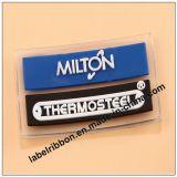Etiqueta macia da marca registrada PVC/Silicon do vestuário