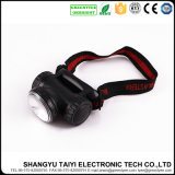 High Power Outdoor Camping Randonnée Walking Running Rechargeable 3W LED Headlamp