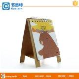 Calendrier de table d'impression de papier de conception simple