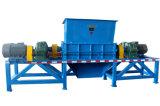 De dubbele Ontvezelmachine van /Wate van het Glas van de Schacht voor Recycling