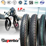 Nouveau OEM 17 pouces 6pr de la courroie de nylon en caoutchouc naturel des pneus diagonaux mixed pattern Tube de basse pression des pneus de moto (300-17) avec Soncap