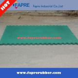 Produit en caoutchouc stable vert de cheval de couvre-tapis
