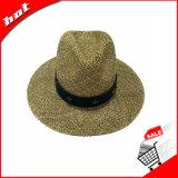 Sombrero del sombrero de ala de Panamá de la paja del Seagrass