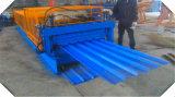 Walzen-Maschine Supllier, Dach-Panel-Stahlplatten-gewölbte Maschine, doppelte Schicht-Dach-Blatt, das Maschine herstellt