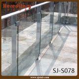 Barandilla de cristal del acero inoxidable para el balcón y la cubierta (SJ-H1717)