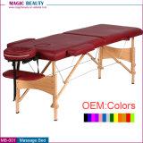MB-001は販売のための価格の2つのセクション大広間の顔の木製の折るベッドを卸し売りする