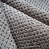 Couper le tissu de velours côtelé de Micorfiber de pile pour le textile à la maison