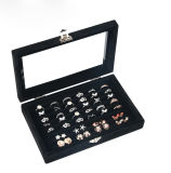 リング、イヤリング、ネックレスのための大きい宝石箱