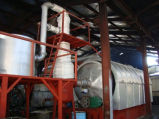 Oil Recycling Pyrolysis Plant 12ton Capacity에 오염 Free New Generation Plastic Waste
