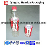 고객 로고를 가진 병에 넣어진 음료 패킹을%s PVC/Pet 수축 레이블