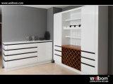 [ولبوم] [هيغقوليتي] طلاء لّك بيضاء خزانة ثوب حديثة