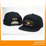 ネイティブパッチの刺繍の黒の急な回復の帽子