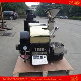 小さいコーヒー焙焼機械ガスの熱1kgのコーヒー煎り器機械
