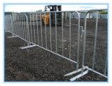 Barriere d'acciaio galvanizzate tuffate calde di traffico, rete fissa provvisoria