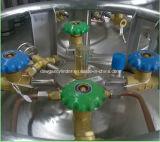 Cilindro criogênico do nitrogênio líquido
