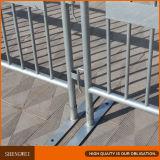 El control de multitudes 1.1X2.1m galvanizado barrera barrera de seguridad móvil