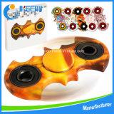 Peint main Fidget Spinner Toy Gyro Spinner