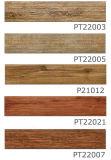 Azulejo de suelo de madera de la porcelana de la baldosa cerámica del tablón para el hogar 200*1000m m del suelo