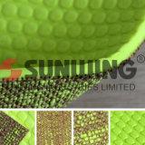 Esteira verde por atacado da ioga do TPE do enxerto de Sunwing anti
