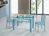 Glasabendtisch und Stuhl (KTD8080A)