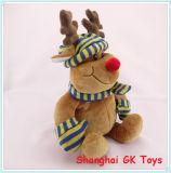 Plush Reindeer Christmas Reindeer Peluches Animal Toys