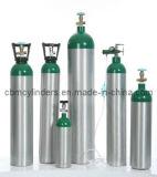 小型アルミニウム酸素ボンベ(2L)