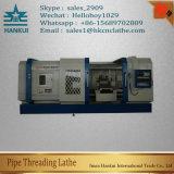 Qk1335 Ferramenta de torno de rosca de tubagem horizontal CNC