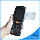 Scanner portatile senza fili industriale del codice a barre del Android PDA dello schermo di tocco con la stampante