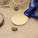 中国の直接販売法のリボンが付いているカスタム金属賞3Dの金メダル