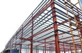 Edificio industrial de acero pesado del taller/Godown de la estructura de acero (SP-013)
