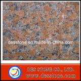 Azulejo de suelo rojo chino del granito con la superficie pulida (DES-GT040)