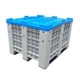 Compartimiento/rectángulo plásticos hechos HDPE de la paleta del almacenaje de 1200X1000X760m m