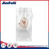 Sacchetto di ghiaccio impermeabile della bottiglia di vino del PVC