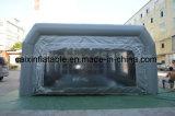 Abrir a cabine de pulverizador seca inflável da pintura da face com filtro