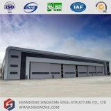 Hangar de la estructura de acero del palmo grande para el mantenimiento del aeroplano
