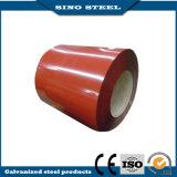 0.45mmの赤いカラー熱いすくい電流を通された亜鉛コーティングの鋼鉄コイル