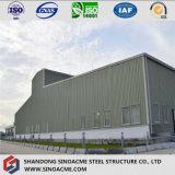 Costruzione prefabbricata per il magazzino con la struttura d'acciaio