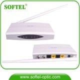 Quatro Modem de Cabo Ethernet Eoc Slave Eoc Master com Antena WiFi