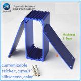 アルミニウム青いカラーはダイカストボックスを