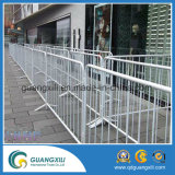 Barreiras de controle de multidão galvanizadas para dirigir o tráfego de pedestres