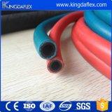 Mangueira azul/vermelha do oxigênio da soldadura