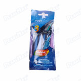 SuperQuality Blue Color Men Razor (24PCS/Card)
